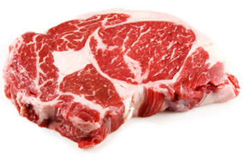 Example of Perfectly Marbled Beef