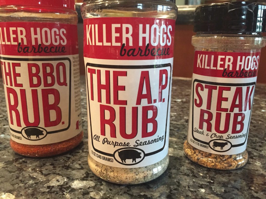 Killer Hogs - A Tasty Trio of Rubs